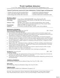 Help Desk Resume Computer Objective Reddit Service Keywords It Cv