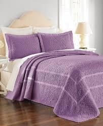 martha stewart collection flowering trellis iris twin bedspread purple 0