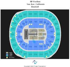 Hp Pavilion Seating Chart Check The Seating Chart Here