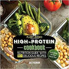 Plant Based High Protein Cookbook Nutrition Guide With 90