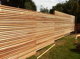 Modern Horizontal Wood Fence Panels HANDGUNSBAND DESIGNS Modern