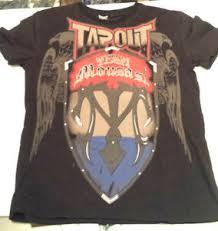 Tapout Clothing Size Chart Details About Tapout Black T Shirt Size Xl Team Mousasi