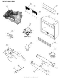 fireplace insert replacement parts a plus inc superior vf 5000 replacement parts accessoreis gas