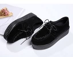 Creepers <b>Shoes Woman</b> Fashion <b>Women Shoes</b> Lace up Ladies ...