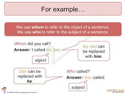 A reduced relative clause is a relative clause that is not marked by an explicit relative pronoun or complementizer such as who, which or that. How To Teach Relative Clauses Off2class