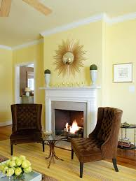 design yellow living room ideas