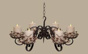 rustic lighting chandeliers candle and chain rustic chandeliers