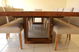 Light Timber Furniture U Base Solid Timber Dining Table Www Christiancolefurniture