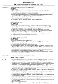 Autocad Technician Resume Samples Velvet Jobs