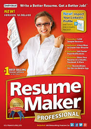Amazon.com: ResumeMaker Professional Deluxe 18 [Download]: Software