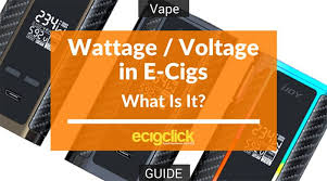 A Guide To Variable Voltage Variable Wattage E Cig Devices