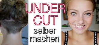 Undercut Selber Machen Youtube Kurzhaarschnitt Selber Schneiden