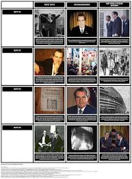 nixon resignation speech of storyboard by richard cleggett