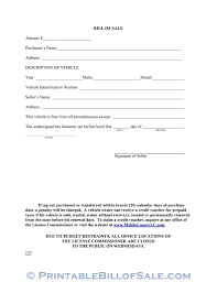 How Do You Make A Bill Of Sale Free Mobile County Alabama Motor Vehicle Bill Of Sale Form