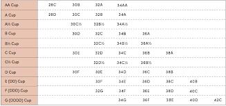 Bra Size Chart Thirdlove Bra Size Charts Bra Chart Bra Sizes