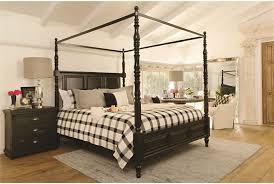 ... preloadHathaway Queen Canopy Bed - Room