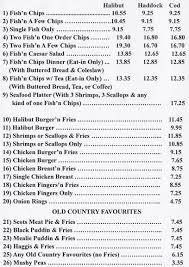 hamish s kitchen menu menu for hamish
