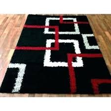 5x7 black and white striped rug area best rugs grey red gray medium chevron