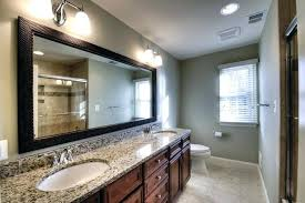 long bathroom mirrors. Large Mirrors For Bathroom Vanity Lovely Long One Mirror Or Two Individual Over Double Narrow Island Wall Rectangular A
