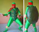 Как сделать новогодний костюм черепашки ниндзя