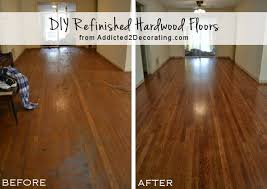 diy refinished hardwood floors before and after 65 year old oak floors