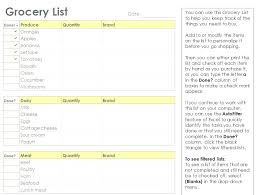 Party List Template Party Food Checklist Template Tsurukame Co
