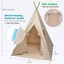 Tarp Teepee Design Canicove Teepee Tent For Kids Award Winning 100 Cotton