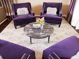 purple accent chairs living room ideas with round table  home
