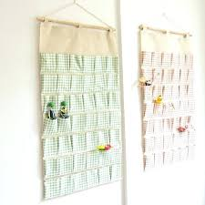 hanging organizers super large pockets wall hanging bags storage bag cotton fabric hanging organizers debris storage