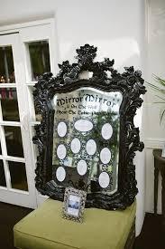 Magic Mirror Themed Seating Plan In 2019 Fairytale Wedding