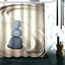 quality shower curtains quality shower curtains nice shower curtains best nice custom zen stones shower curtain