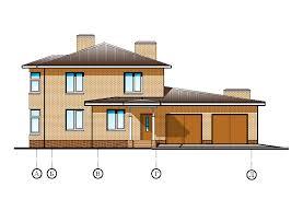 Курсовые и Дипломные проекты Коттеджей Архив проектов домов  Скачать>>> Рабочий Проект Жилой кирпичный 2 х этажный дом коттедж Стадия АС