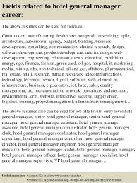 Hotel General Manager Resume Cool Top 48 Hotel General Manager Resume Samples