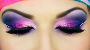 dramatic arabic eye makeup