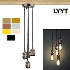 light vintage industrial retro pendant lamp ceiling light chandeliers mixed bulb cafe lights