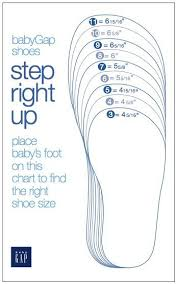 Baby Gap Shoes Size Chart Baby Shoe Sizes Crochet Baby