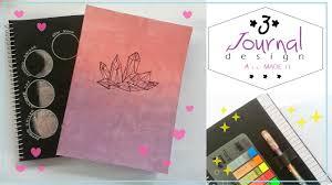 Diy Journal Cover Design Ideas 3 Diy Journal Design Ideas Notebook Designs Aiimadeit