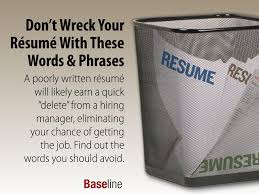 These Words Can Ruin Your Resume