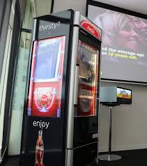 Coca Cola Touch Screen Vending Machine Enchanting CocaCola Face Recognition Australia Business Insider