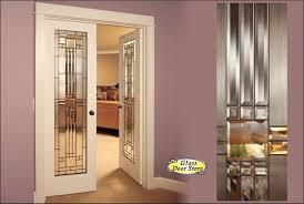 panel bevelled glass interior doors