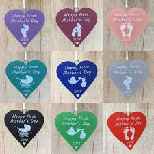 first mothers day heart 1st gift idea for new mum with baby