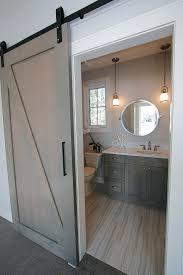 Barn Interior Design Adorable Barn Door Into Bath R Toliy'S Tile Installation We Sell And