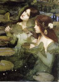 hylas and the nymphs john william waterhouse detail