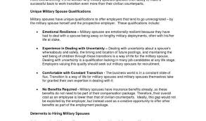 Military Transition Resume Or Stay At Home Mom Resume Template 63