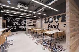 natural light office. Mode:lina Architekci Design A Playful New Restaurant For LIDL Poland Natural Light Office