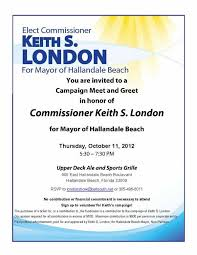 Meet And Greet Invitations Samples Political Fundraiser Invitations To View The Invitation In Pdf