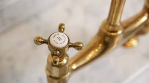 Unlacquered Brass Kitchen Faucet Amazing Faucets In Stunning Plan