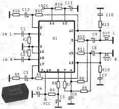 x w ics amplifier stk power amplifier stk4191 amplifier schematics