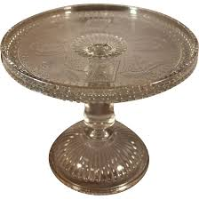 kitchen vintage adams eapg glass horseshoe and anchor cake stand from antique stands uk