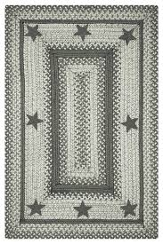 rectangular primitive star plymouth jute braided rugs southwestern area rugs by bunnyberry